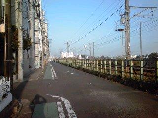 ジテツー→歩き