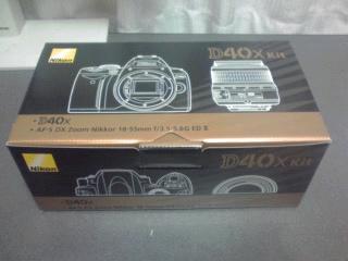 Nikon D40Xが手に入っちゃった(^_^;)