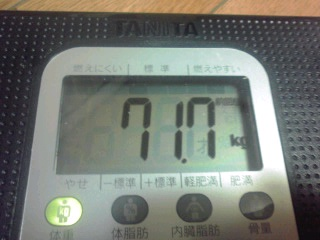 ぎ、ぎゃ~~~!orz(20120913Ton's体重その他)