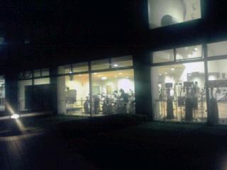 横山公園グリーンプールトレーニングルームで…