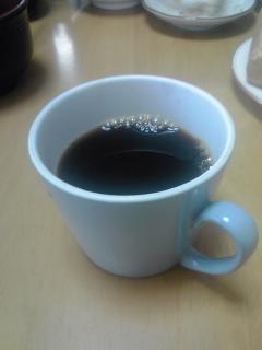 先日焙煎のコーヒー飲んだ