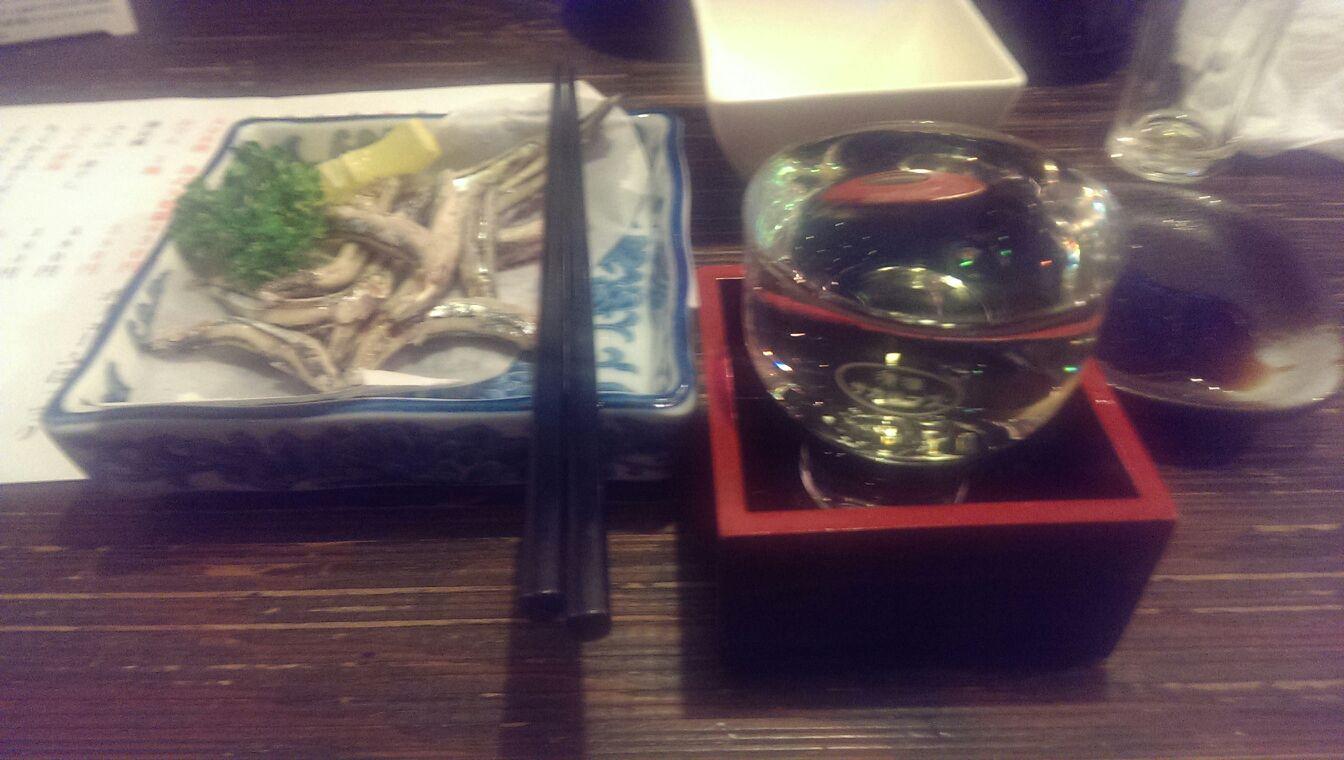 稲田堤で一杯(^_^;)