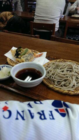 深大寺蕎麦ジョグ(^o^)v