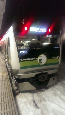 横浜線新型車両に乗りました♪