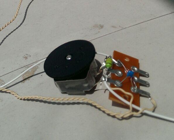 「ゲルマニウムラジオの製作」、成功です(^-^)v。