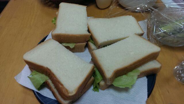 母のサンドイッチ