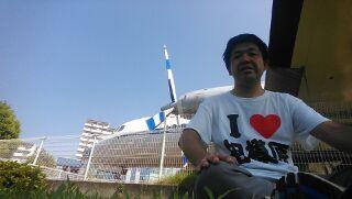 航空公園駅に到着しました(^-^)v。