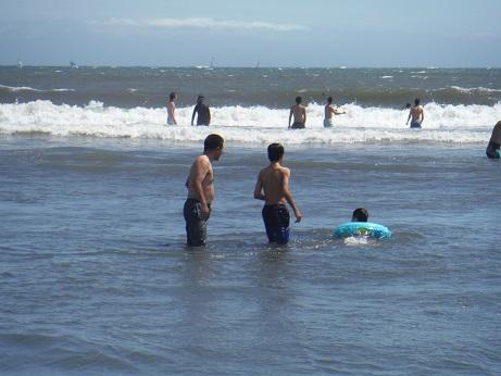 家族で海へ 2014