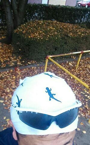 冬の手拭い(^_^)