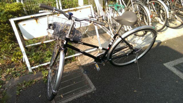 通勤用自転車乗り替え