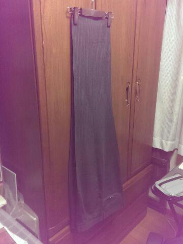 仕事ズボンの洗濯&アイロン