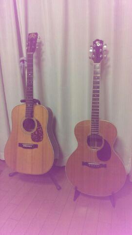 ギター2本、弦交換