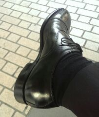 災害時に自力で帰れる靴か?