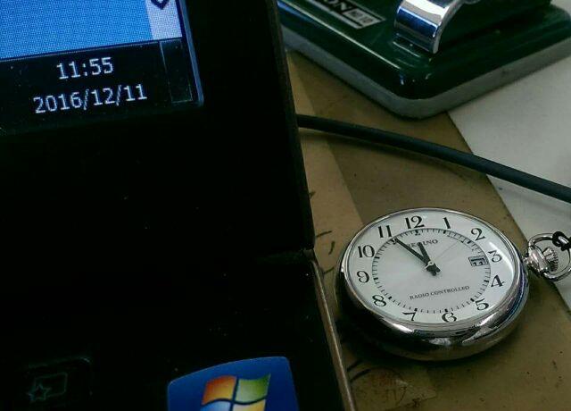 アナログ時計が好き(^_^)