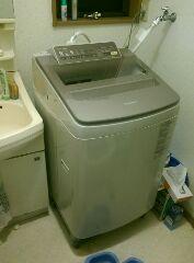 新洗濯機もPanasonic!