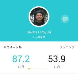 2016年ジョグ距離、903.6km